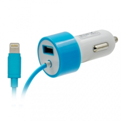 4.8A Car Charger with Lightning Cable