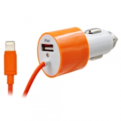 4.2A /3.4A /3.1A Car Charger.with lightning cable.