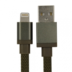 MFi Canvas Braided Lightning Charge & Sync Cable