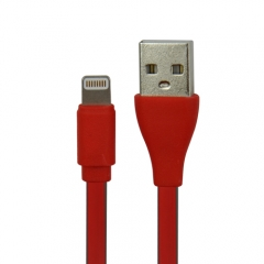 MFi Dual-Color Flat Lightning Charge and Sync Cable