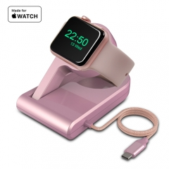 Portable Apple Watch Series 2 USB-C Charging Dock