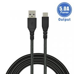 Integrated 4-5 current USB-C cable for Huawei, Oppo, OnePlus (One-for-all deign)